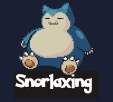 Snorlaxing by coolioscooter