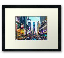 nyc (three) Framed Print