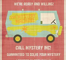 Mystery, Inc by espanameg