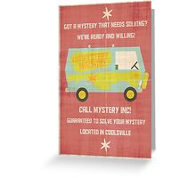 Mystery, Inc Greeting Card