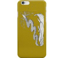 Shooting star (dark gold) iPhone Case/Skin