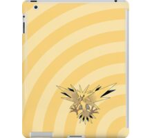 Pokemon - Zapdos Circle iPad Case iPad Case/Skin