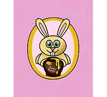 Funny Honey Bunny Photographic Print