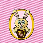 Funny Honey Bunny by Ron Marton