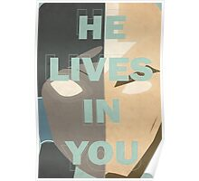 He Lives in You Poster