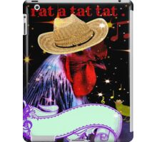 music rat a tat. iPad Case/Skin