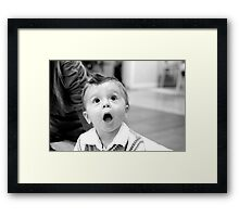 New discovery Framed Print