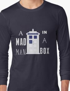 The mad man in a box Long Sleeve T-Shirt