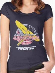 BEE GEES TOUR 2 Women's Fitted Scoop T-Shirt