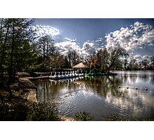 Saltwell Park Lake Photographic Print