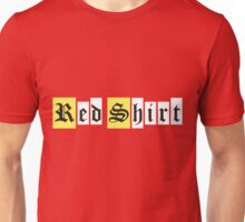 Red Shirt - Retro Sign Unisex T-Shirt