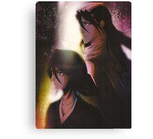 Byakuya and Rukia Canvas Print