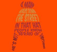 A man walks down the street... Kids Clothes