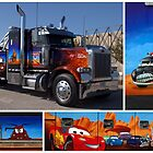"Peterbilt Big Rig Tow Truck ""Cars"" Tribute Truck by TeeMack"
