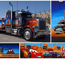 "Peterbilt Big Rig Tow Truck ""Cars"" Tribute Truck by TeeMack"