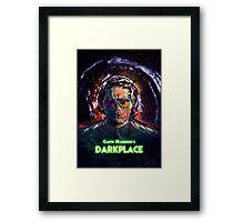 Garth Marenghi's Darkplace Framed Print