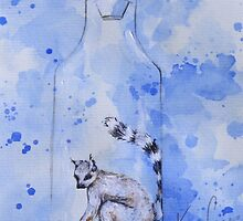 Bottled Lemur by Kira Crees