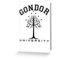 Gondor University Greeting Card