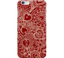 I Heart Red! iPhone Case/Skin