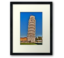 Leaning Tower 1 Framed Print