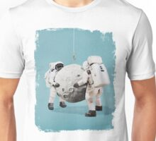 Hanging the moon Unisex T-Shirt