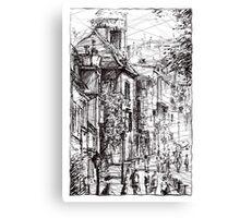 Montmartre 15 Canvas Print