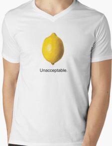 Unacceptable. Mens V-Neck T-Shirt