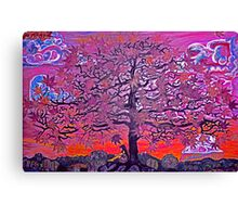 Autumn in The Maceon Ranges. (painting) Canvas Print