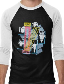 DURANDURAN Men's Baseball ¾ T-Shirt