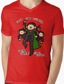 Super Cool! Mens V-Neck T-Shirt