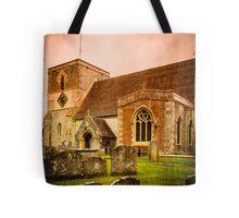 St Mary's Church Kintbury Berkshire Tote Bag
