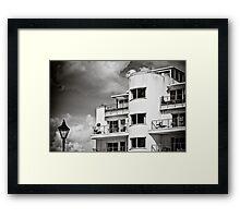 Art Deco Apartments Framed Print