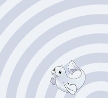 Pokemon - Dewgong Circles iPad Case by Aaron Campbell