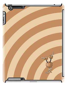 Pokemon - Doduo Circles iPad Case by Aaron Campbell
