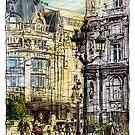 Paris 1 in colour by Tatiana Ivchenkova