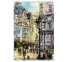 Paris 1 in colour Photographic Print