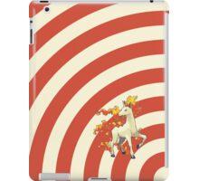 Pokemon - Rapidash Circles iPad Case iPad Case/Skin