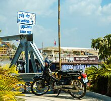 Phnom Penh Harbor by mlphoto