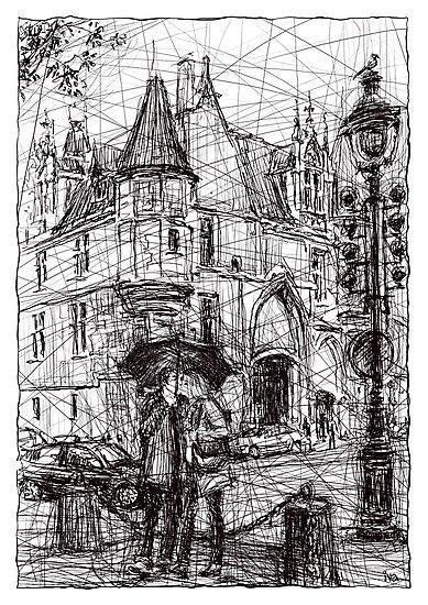 Paris 3 by Tatiana Ivchenkova