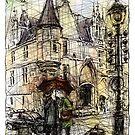 Paris 3 in colour by Tatiana Ivchenkova