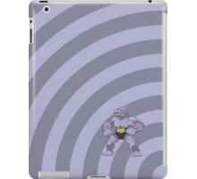 Pokemon - Machoke Circles iPad Case iPad Case/Skin