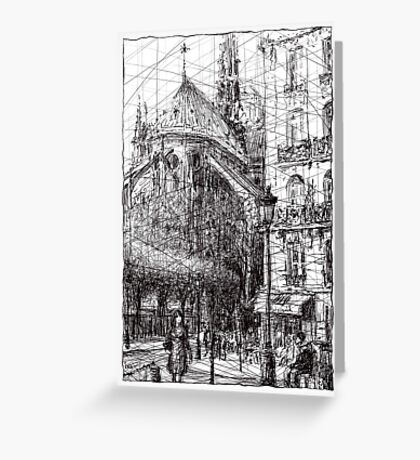 Paris 4 Greeting Card