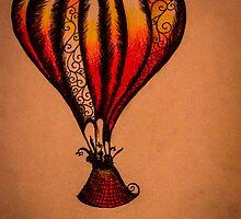 Fiddle Balloon by Emma Luker