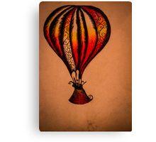 Fiddle Balloon Canvas Print