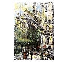 Paris 4 in colour Photographic Print