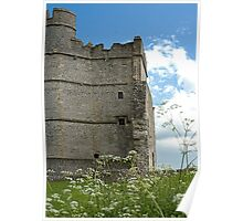 Donnington Castle Berkshire England Poster