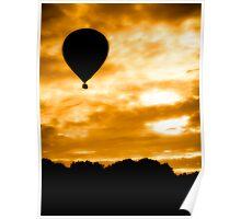 Balloon Rise Poster