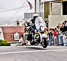 SFPD Motorcycles by mlphoto