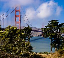 Golden Gate Bridge by mlphoto