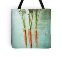 Three Carrots Tote Bag